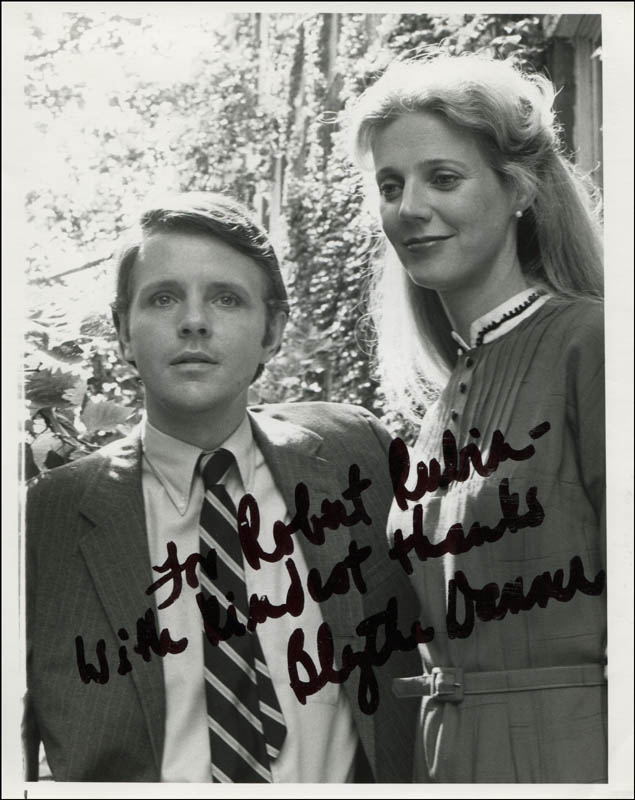 Image 1 for Blythe Danner - Autographed Inscribed Photograph - HFSID 310755
