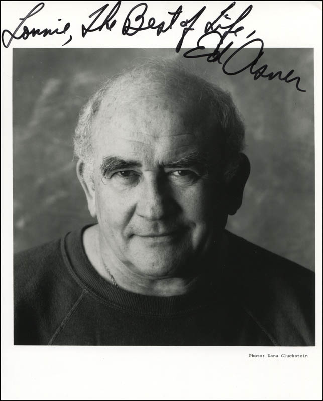 Image 1 for Ed Asner - Autographed Inscribed Photograph - HFSID 310864