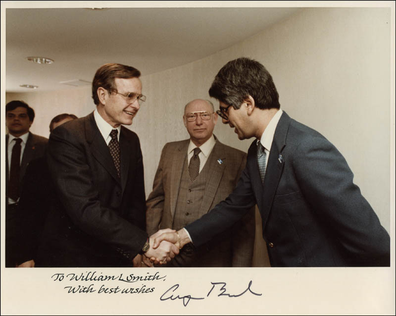 Image 1 for President George H.W. Bush - Autographed Inscribed Photograph - HFSID 310935