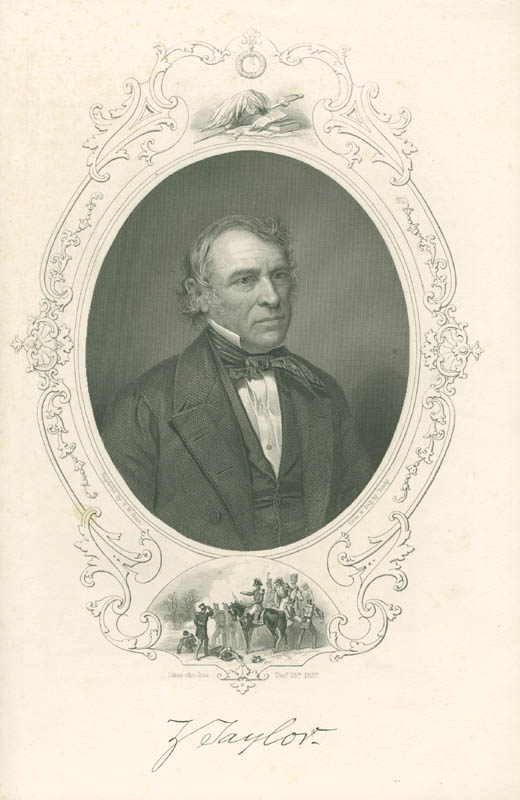 Image 1 for President Zachary Taylor - Engraving Unsigned - HFSID 3109534
