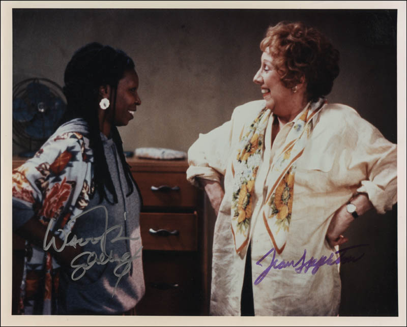 Image 1 for Bagdad Cafe TV Cast - Autographed Signed Photograph co-signed by: Whoopi Goldberg, Jean Stapleton - HFSID 311603