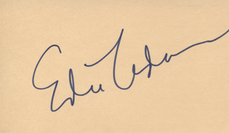 Image 1 for Edie Adams - Autograph - HFSID 311798