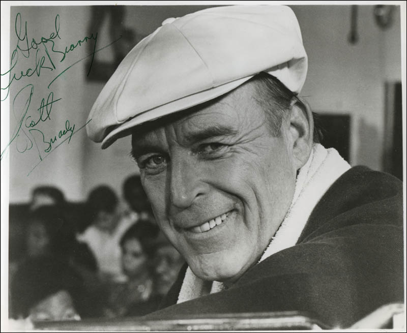 Image 1 for Scott Brady - Autographed Inscribed Photograph - HFSID 311876