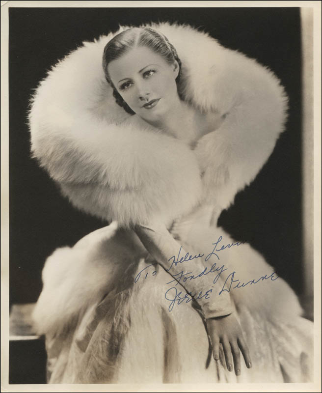 Image 1 for Irene Dunne - Autographed Inscribed Photograph - HFSID 311881