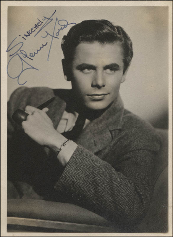 Image 1 for Glenn Ford - Autographed Signed Photograph - HFSID 311884