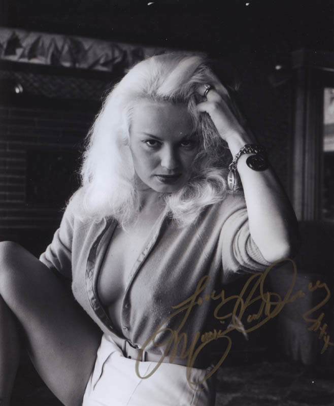 Image 1 for Mamie Van Doren - Autographed Signed Photograph - HFSID 311911