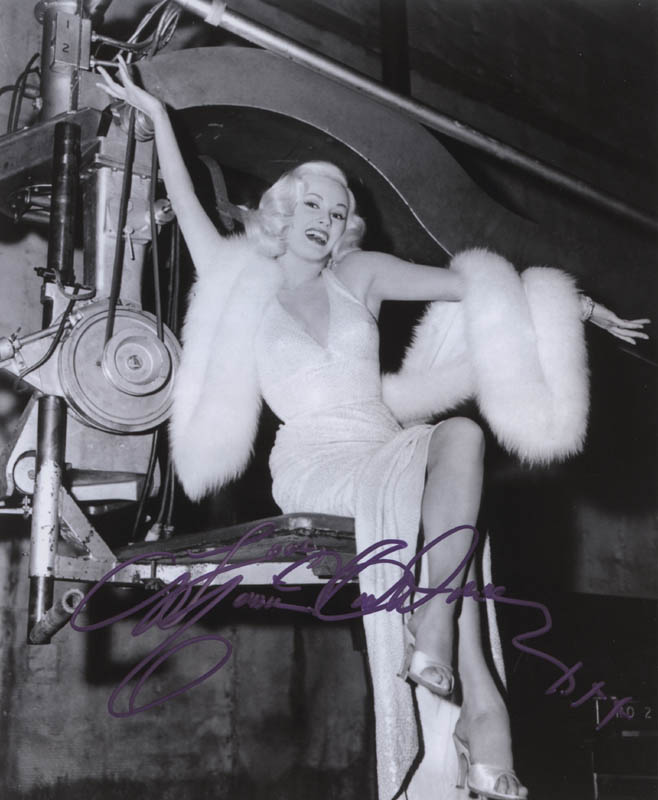 Image 1 for Mamie Van Doren - Autographed Signed Photograph - HFSID 311916