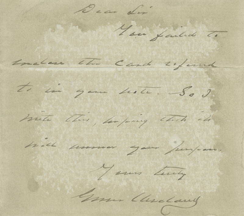 Image 1 for President Grover Cleveland - Autograph Letter Signed - HFSID 31206