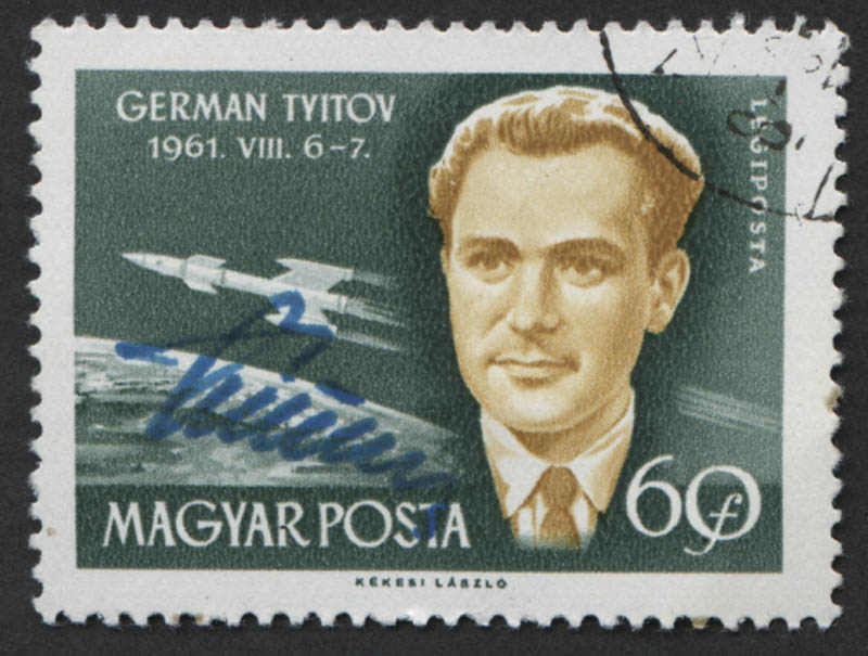 Image 1 for General Gherman Titov - Stamp(s) Signed - HFSID 312090