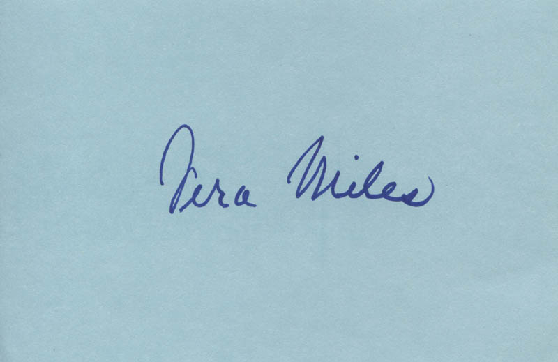 Image 1 for Vera Miles - Autograph - HFSID 312096