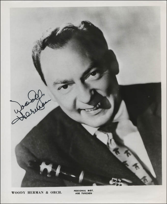 Image 1 for Woody Herman - Autographed Signed Photograph - HFSID 312401