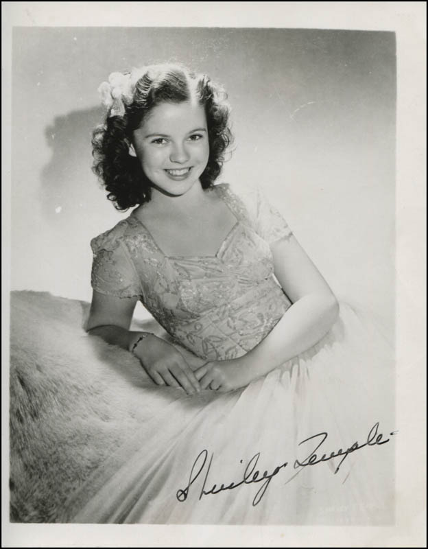 Image 1 for Shirley Temple - Autographed Signed Photograph - HFSID 312827
