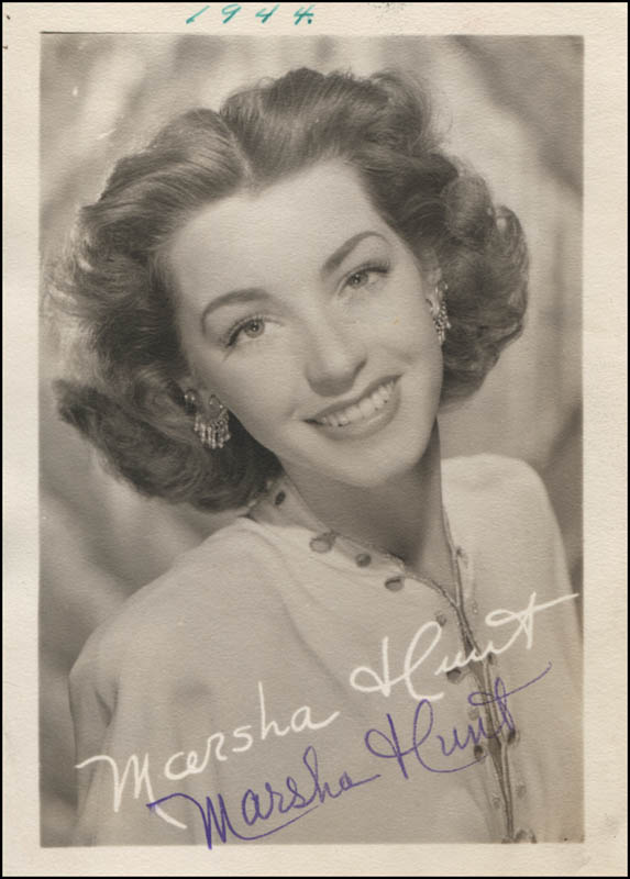 Image 1 for Marsha Hunt - Printed Photograph Signed In Ink - HFSID 312911