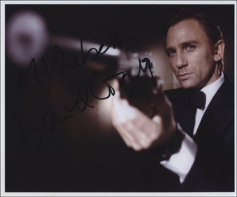 Image 1 for Daniel Craig - Autographed Signed Photograph - HFSID 312917