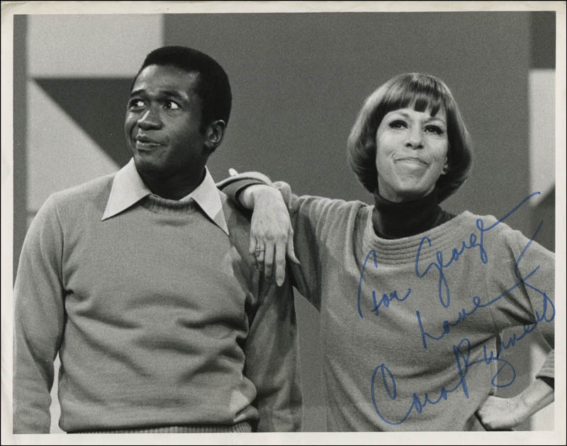 Image 1 for Carol Burnett - Autographed Inscribed Photograph - HFSID 313049