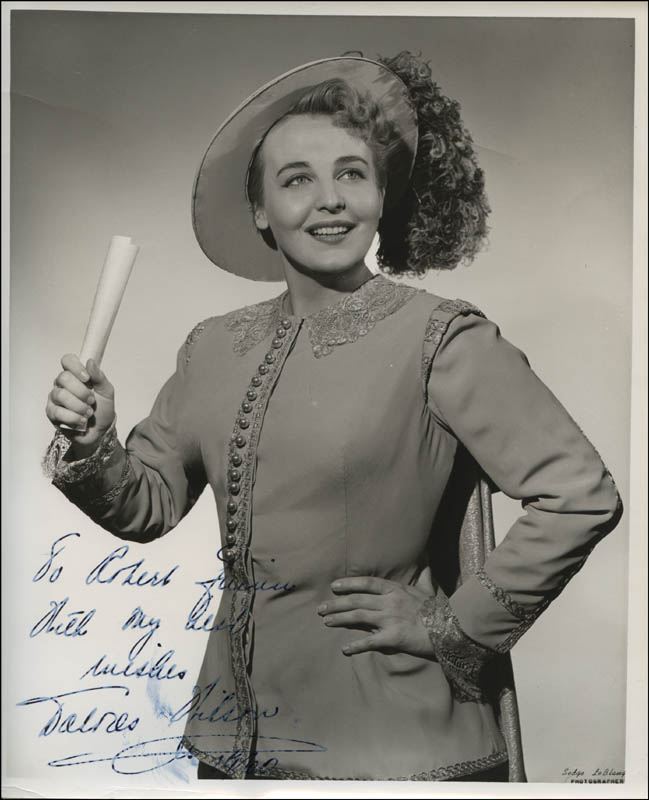 Image 1 for Dolores Wilson - Autographed Inscribed Photograph 1960 - HFSID 313393