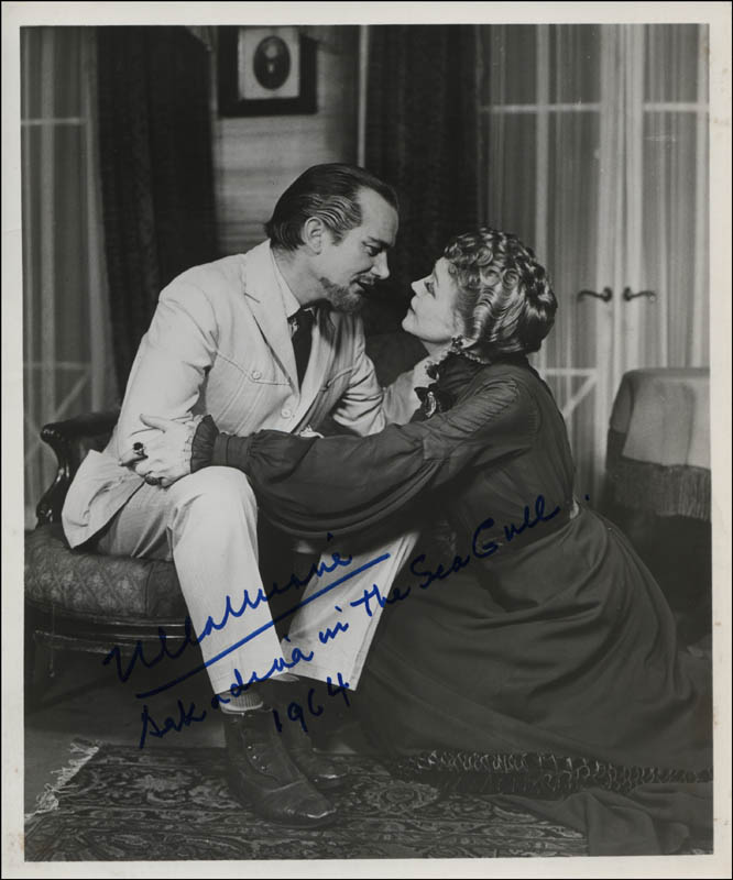 Image 1 for Eva Le Gallienne - Autographed Signed Photograph 1964 - HFSID 313397