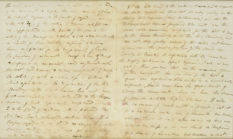 Image 4 for Major General George G. Meade - Autograph Letter Signed 03/06/1843 - HFSID 31356