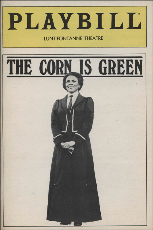Image 3 for The Corn Is Green Play Cast - Show Bill Signed with co-signers - HFSID 313594