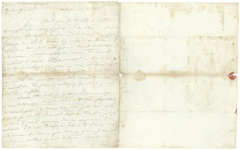 Image 1 for Lt. General Winfield Scott - Autograph Letter Signed 01/18/1832 - HFSID 31368