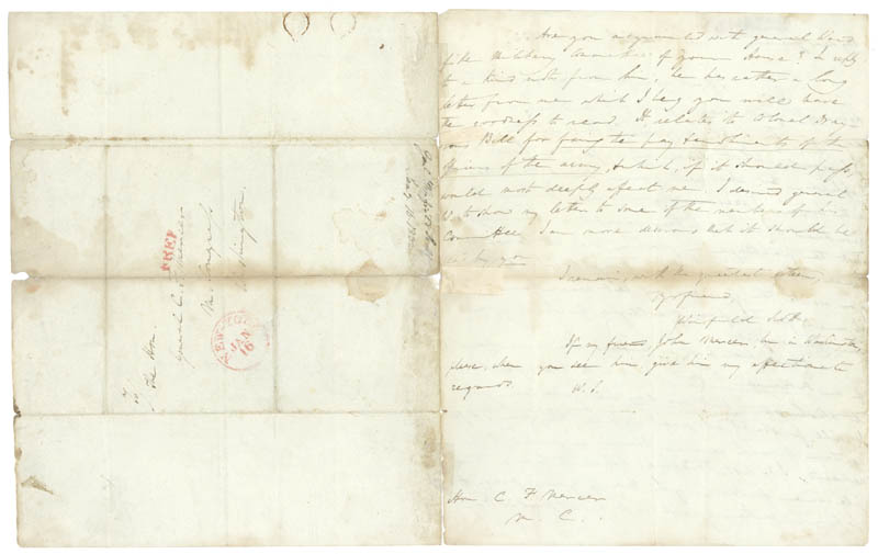 Image 3 for Lt. General Winfield Scott - Autograph Letter Signed 01/18/1832 - HFSID 31368