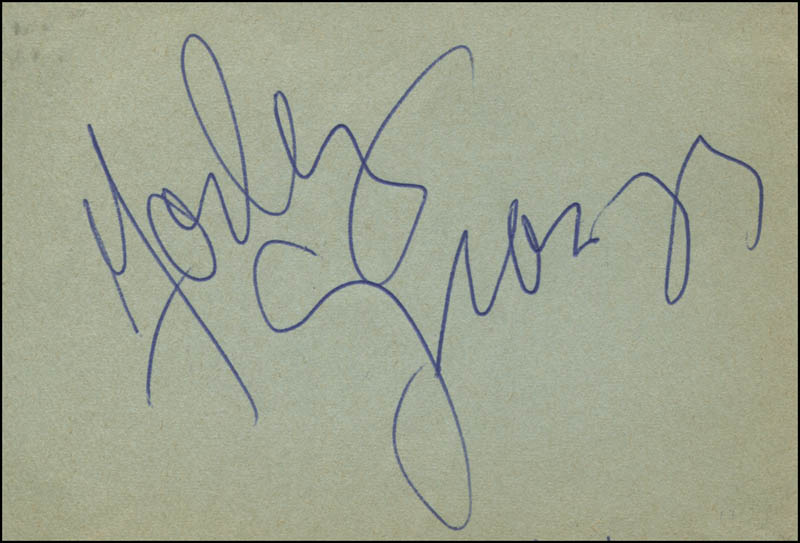 Image 1 for Farley Granger - Autograph - HFSID 313829