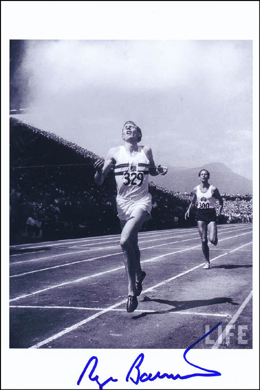 Image 1 for Roger G. Bannister - Autographed Signed Photograph - HFSID 313945