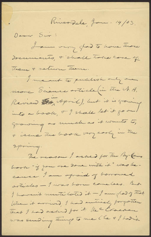 Image 3 for Samuel L. 'Mark Twain' Clemens - Autograph Letter Signed 01/14/1903 - HFSID 31406