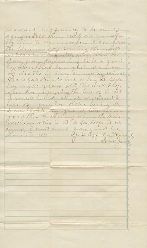 Image 1 for Frank James - Autograph Letter Signed 02/29/1884 - HFSID 314408
