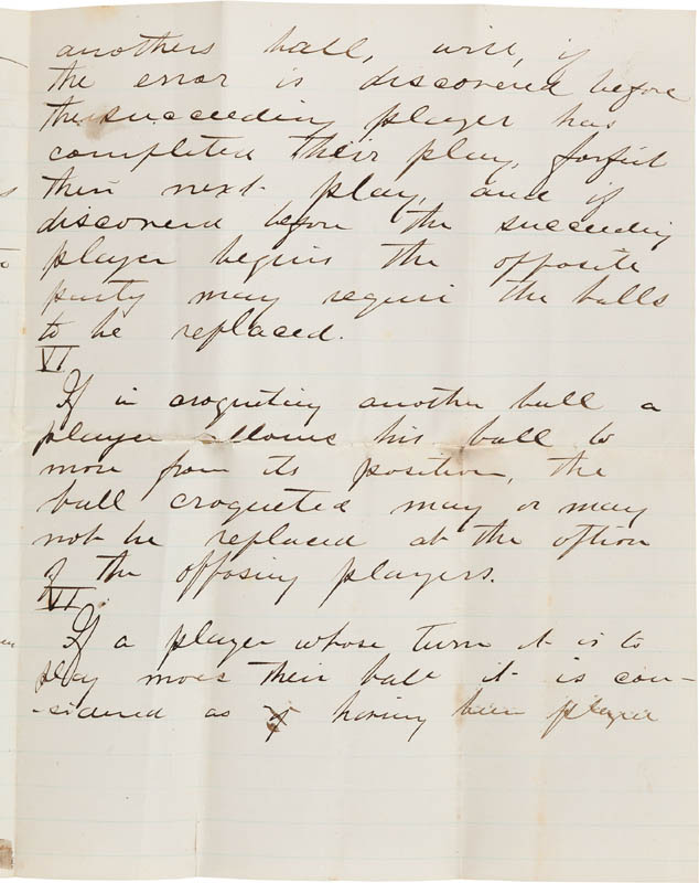 Image 4 for Major General George Armstrong Custer - Autograph Manuscript Unsigned - HFSID 314410