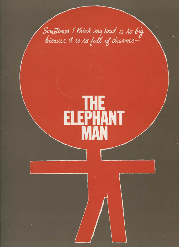 Image 3 for The Elephant Man Play Cast - Show Bill Signed co-signed by: Kevin Conway, Carole Shelley, Philip Anglim, David Heiss - HFSID 314550