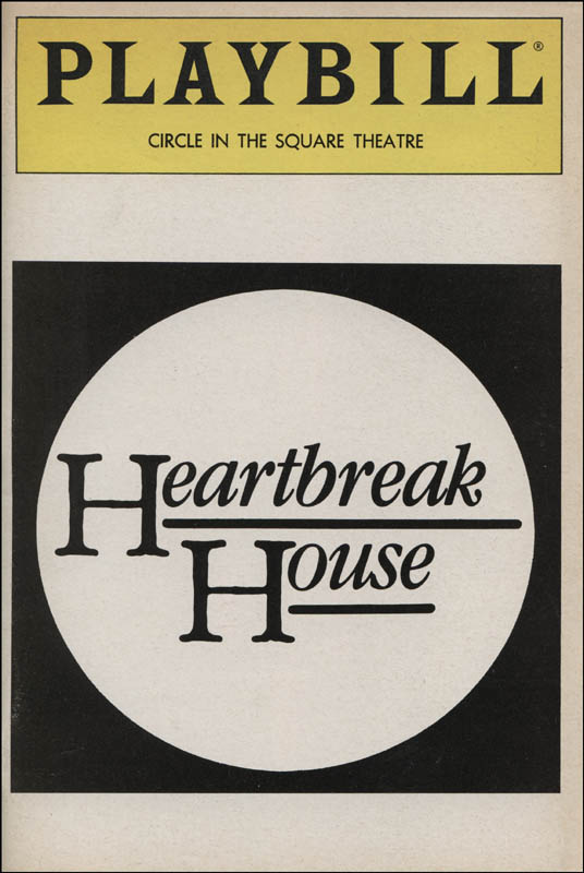 Image 3 for Heartbreak House Play Cast - Show Bill Signed co-signed by: Rosemary Harris, Dana IVey - HFSID 314583