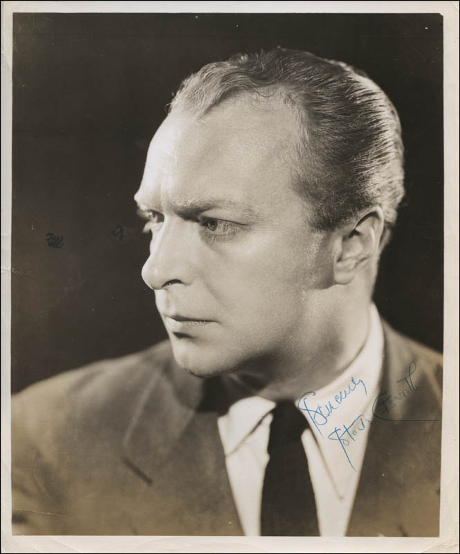 Image 1 for Staats Cotsworth - Autographed Signed Photograph - HFSID 314591