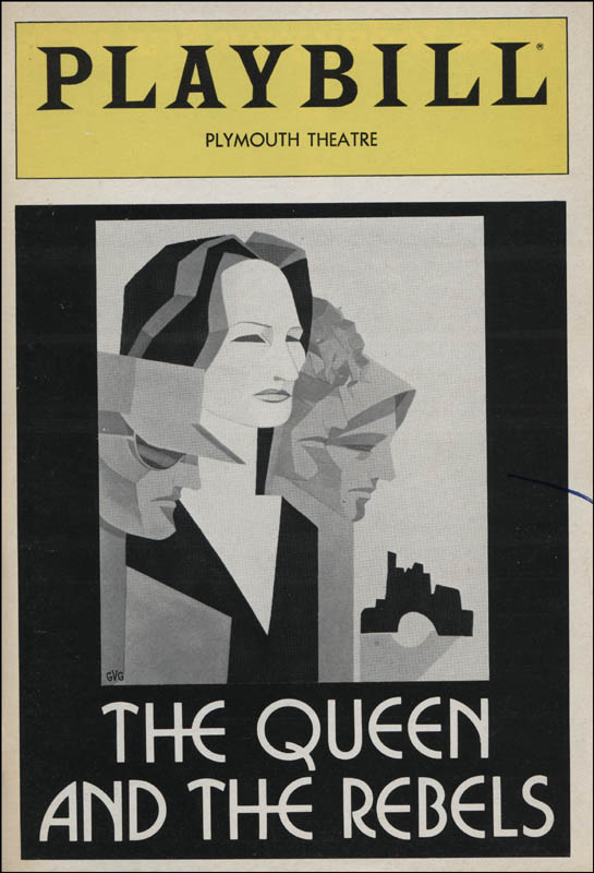 Image 3 for The Queen And The Rebels Broadway Cast - Show Bill Signed with co-signers - HFSID 314677