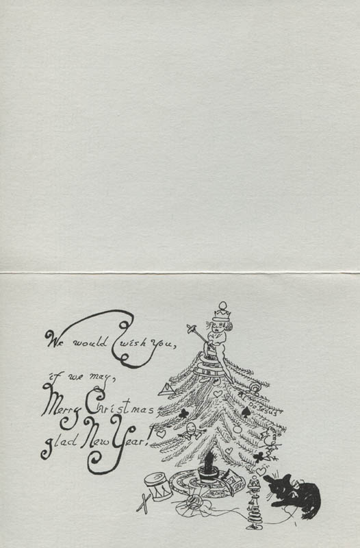 Image 3 for Bambi Linn - Christmas / Holiday Card Signed Circa 1983 - HFSID 314845