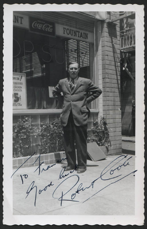 Image 1 for Robert Coote - Autographed Inscribed Photograph - HFSID 315372