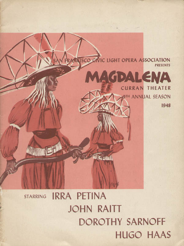 Image 15 for Magdalena Play Cast - Inscribed Show Bill Signed with co-signers - HFSID 315391