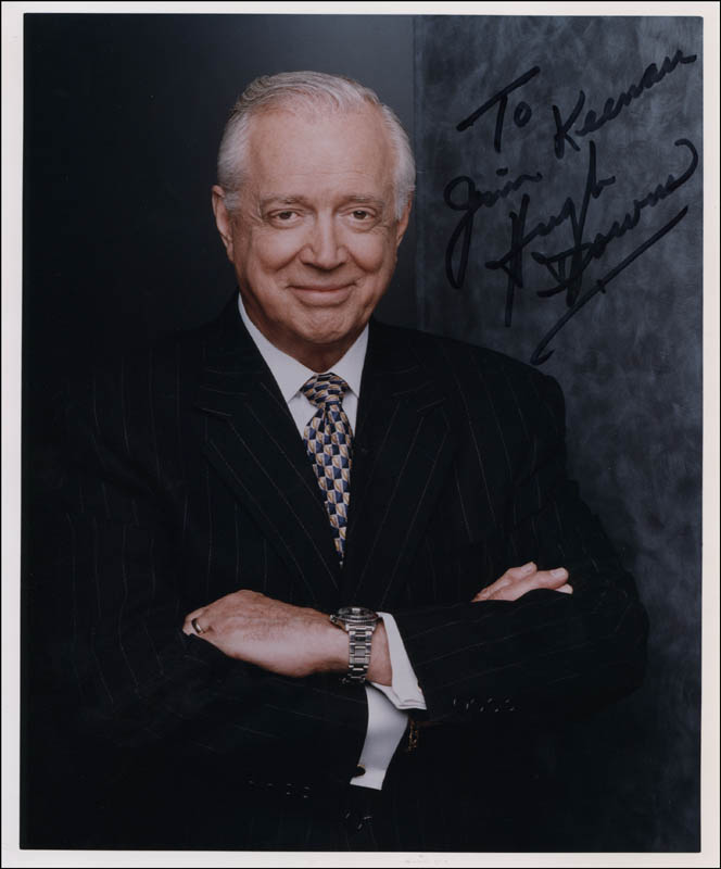 Image 1 for Hugh Downs - Autographed Inscribed Photograph - HFSID 315560