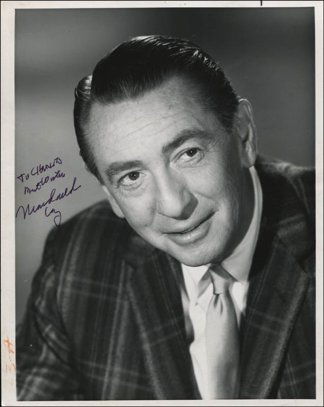 Image 1 for Macdonald Carey - Autographed Inscribed Photograph - HFSID 315567