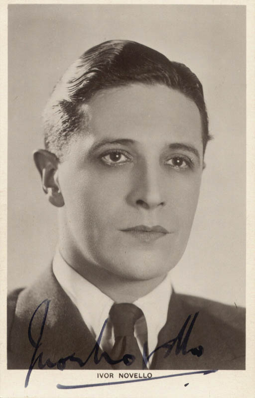 Image 1 for Ivor Novello - Picture Post Card Signed - HFSID 31558
