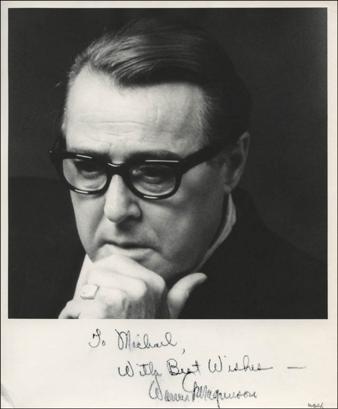 Image 1 for Warren G. Magnuson - Autographed Inscribed Photograph - HFSID 315715