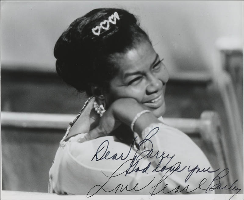 Image 1 for Pearl Bailey - Autographed Inscribed Photograph - HFSID 317166