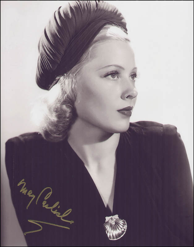 Image 1 for Mary Carlisle - Autographed Signed Photograph - HFSID 317170
