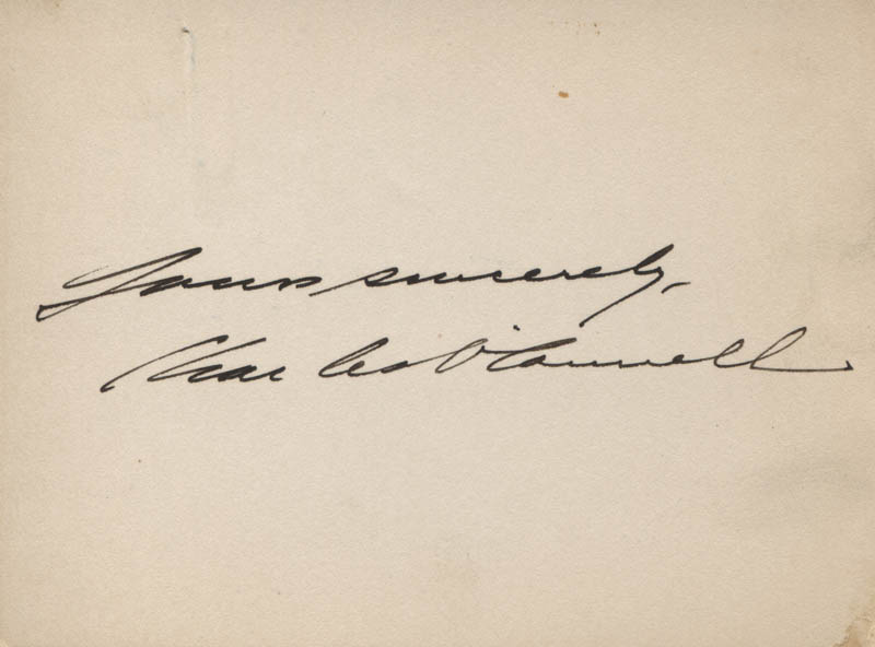 Image 1 for Charles O'Connell - Autograph Sentiment Signed - HFSID 317186