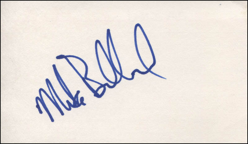 Image 1 for Mike Bullard - Autograph - HFSID 317444