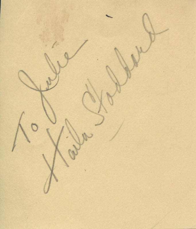 Image 1 for Haila Stoddard - Inscribed Signature - HFSID 317574