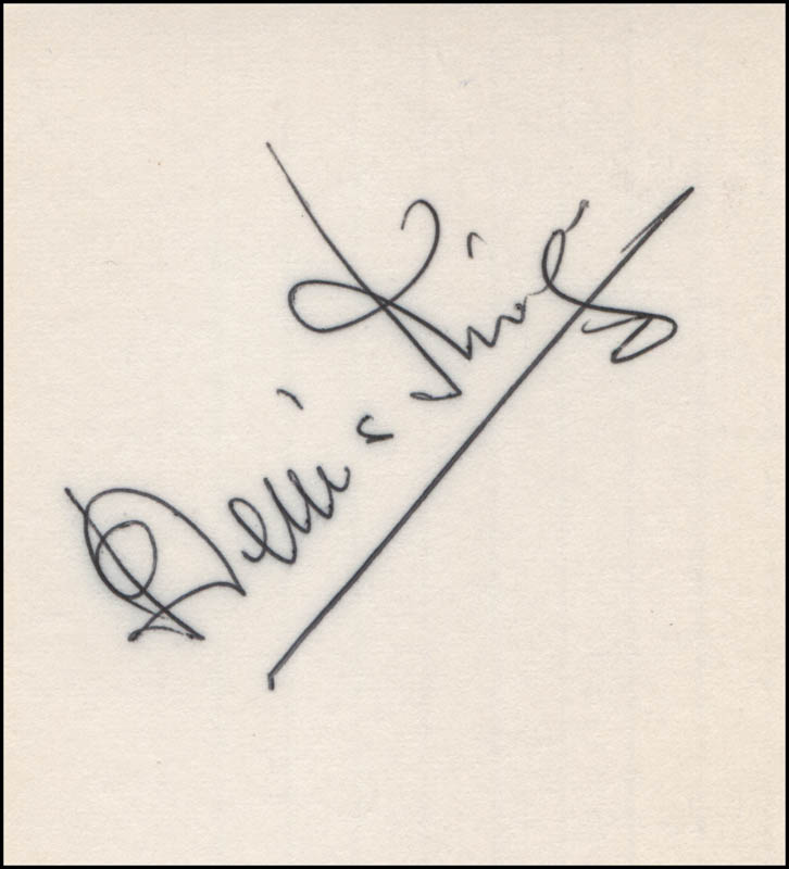 Image 1 for Dennis King - Autograph - HFSID 318363