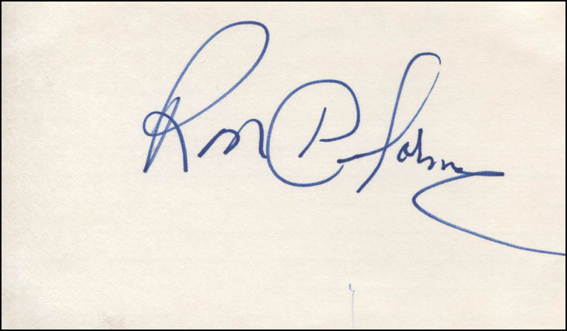 Image 1 for Ron Delorme - Autograph - HFSID 318936