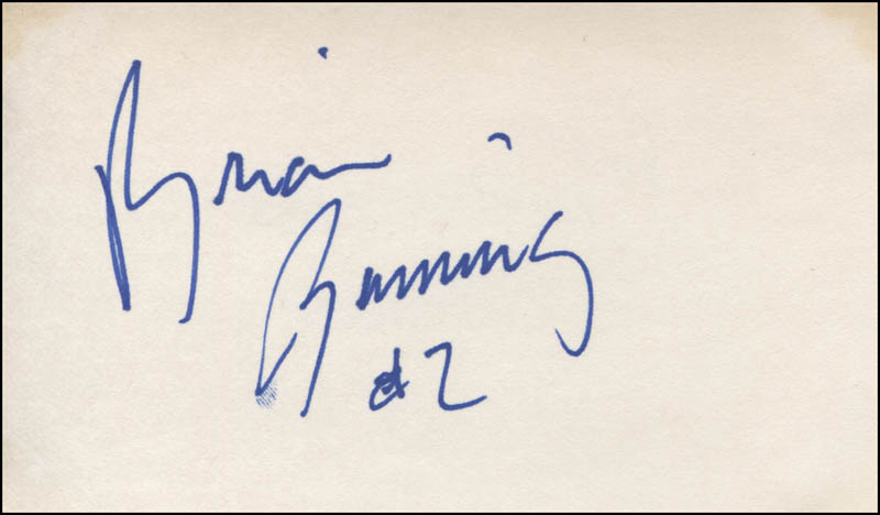 Image 1 for Brian Benning - Autograph - HFSID 319197