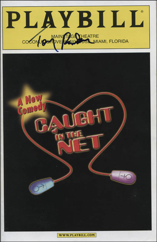 Image 1 for Caught In The Net Play Cast - Show Bill Signed with co-signers - HFSID 320044